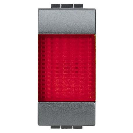 Living int portalampada spia rosso bticino l4371r for Termostato living bticino