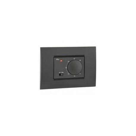 Vemer keo a termostato incasso 230v bianco elettro store for Termostato vemer istruzioni