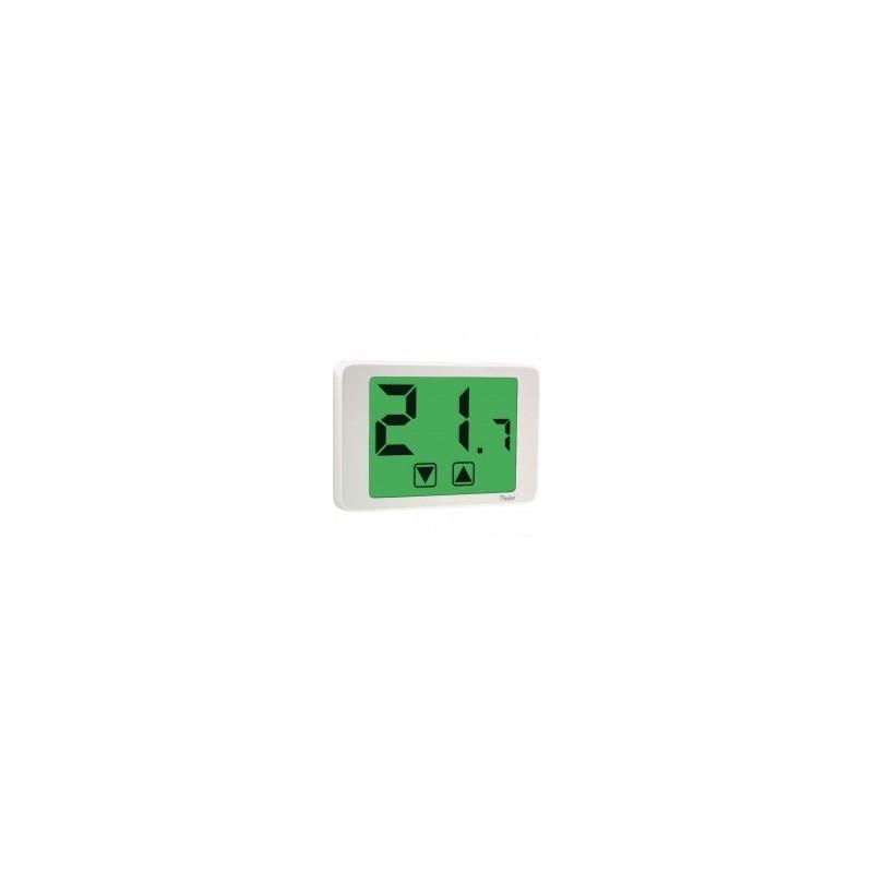 Vemer thalos 230 bianco termostato touch bianco elettro for Termostato vemer istruzioni