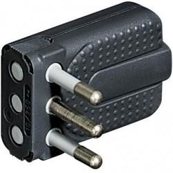 Bticino BTIS2465TG kit - spina corner salvasp.2P+T 10A grigio