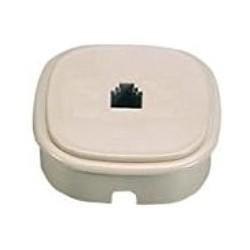 Fanton FME22240 Presa da parete/incasso per 1 plug 6/4 c. Avorio
