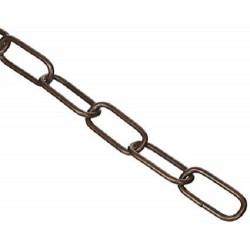 Catena Genovese filo diametro 2,8mm acciaio bronzato zaponato (1 metro)