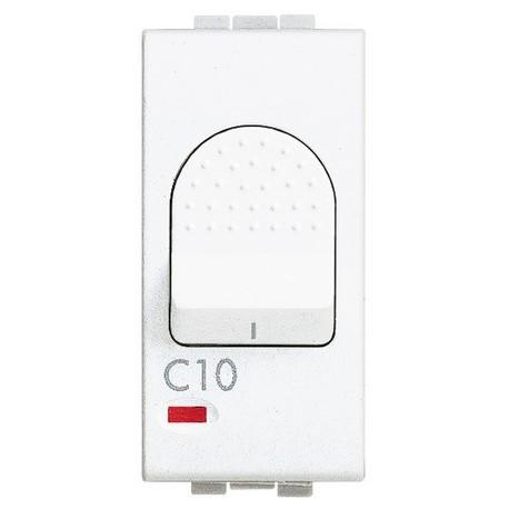 light - magnetotermico 1P+N 6A 1,5kA BTICINO N4301/6