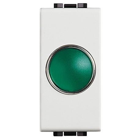 light - portalampada spia verde BTICINO N4371V