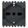 Vimar VIM20210 Presa 2P+T 16A universale grigio