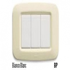 AVE 45PY03BP PLACCA YES TECNOP.LUCIDA 3M. BLANC