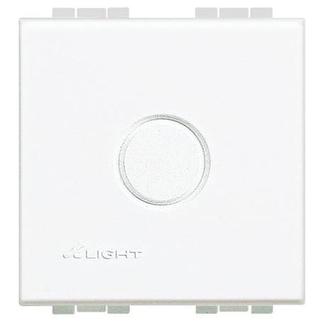 light - tasto falso polo con prefrattura BTICINO N4951