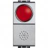 light tech - pulsante + portalamp rosso BTICINO NT4038R