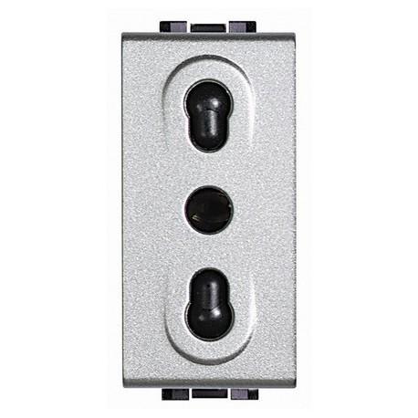 light tech - presa 2P+T 10/16A bipasso BTICINO NT4180