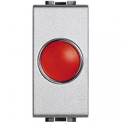 light tech - portalampada spia rosso BTICINO NT4371R