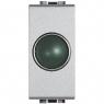 light tech - portalampada spia verde BTICINO NT4371V