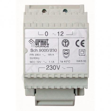 Urmet UTD9000/230 TRASFORMATORE 12V - 230V/18VA