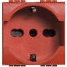 living int - presa std tedesco/italiaP30red BTICINO L4140/16R