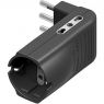 Bticino BTIS3616GE kit - adatt Corner 2 pr bip+1 pr. P30 gri