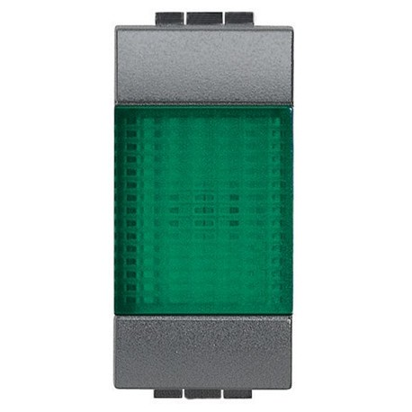 living int - portalampada spia verde BTICINO L4371V