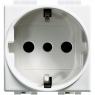 luna - presa UNEL 2P+T 16A tipo P30 BTICINO C4140