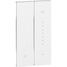 living now cover dimmer 2M bianco