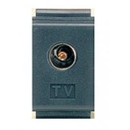 """Compatibile """"Bticino Living Classic"""" Presa Tv Coassiale D.9,5mm"""