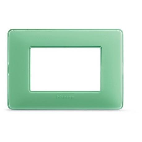matix - placca 3p colors te verde BTICINO AM4803CVC