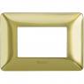 matix - placca 3p oro satinato BTICINO AM4803GOS