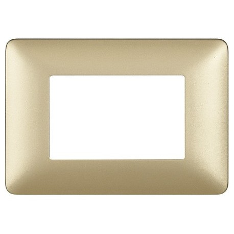 matix - placca 3p gold BTICINO AM4803MGL
