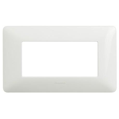 matix - placca 4p bianco BTICINO AM4804BBN