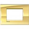 LL - placca 3P oro freddo BTICINO LNA4803OA