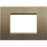 LL - placca 3P square BTICINO LNA4803SQ