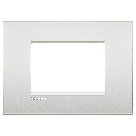 LL - placca 3P bianco perla BTICINO LNC4803PR