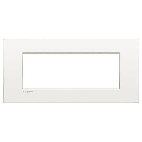 LL - placca 7P bianco puro BTICINO LNC4807BN