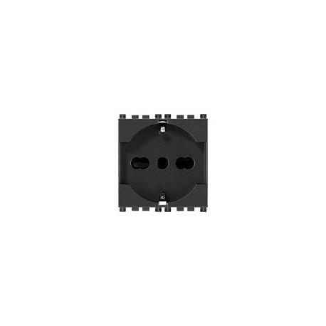 Vimar VIM19210 Presa 2P+T 16A universale grigio