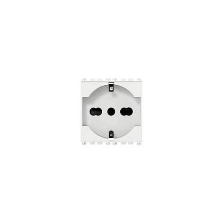 Vimar VIM19210.B Presa 2P+T 16A universale bianco