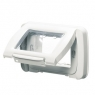 PLACCA STAGNA 4P.BIANCO NUVOLA TOP SYS