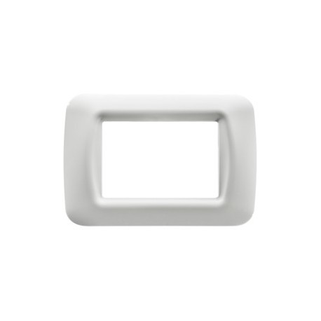 PLACCA 3 POS.BIANCO NUVOLA TOP SYSTEM