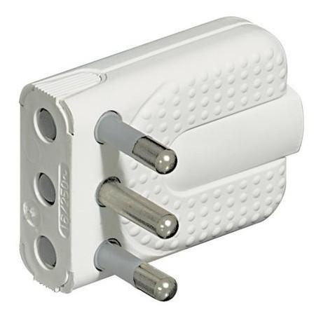 Bticino BTIS2466TA kit - spina corner salvasp.2P+T 16A bianco