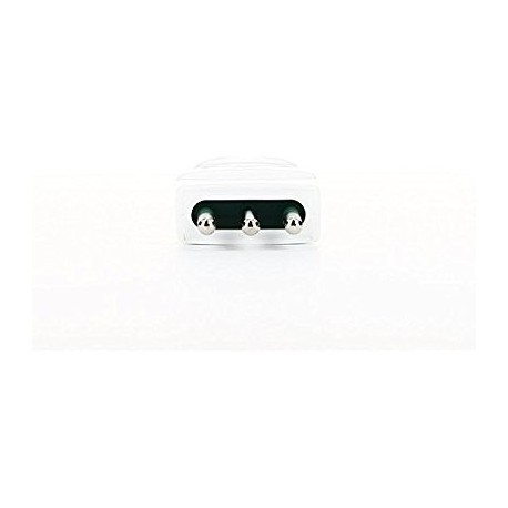 Vimar VIM00201.B Spina 2P+T 10A S11 assiale bianco
