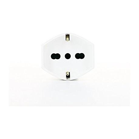 Vimar VIM00225.B Presa 2P+T 16A universale assiale bianco