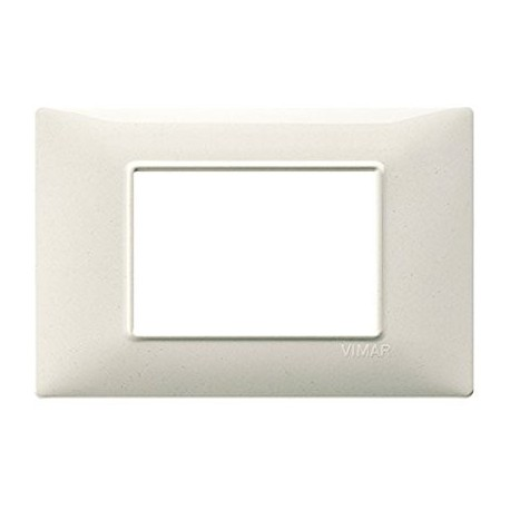 Vimar VIM14653.06 Placca 3M bianco granito