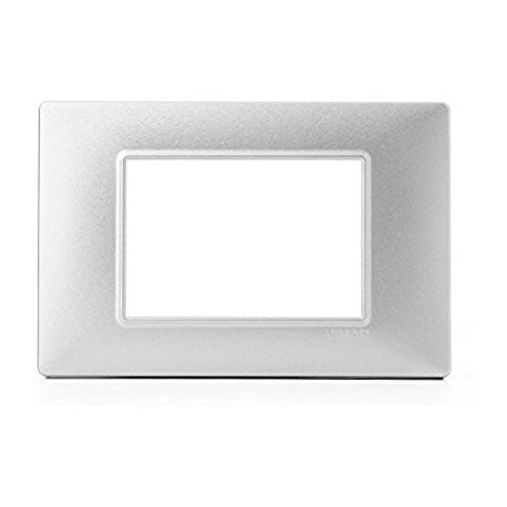 Placca 3M argento opaco
