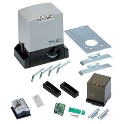 FAAC DELTA 2 230V SAFE Kit automazione elettromeccanica 230V per cancelli scorrevoli con peso max 500 Kg ad uso residenziale
