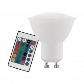 Lampadina led 5w RGB GU10 Kit con telecomando