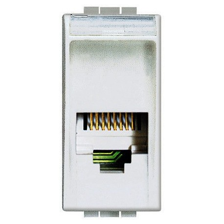 light - connettore RJ11 (4/6) tipo K10 BTICINO N4258/11N